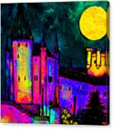 Castle Segovia Canvas Print