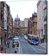 Castle Street - Liverpool Canvas Print