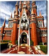 Castle Taman Mini Indonesia Indah  Canvas Print