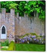 Castle Wall At The Highlands Canvas Print