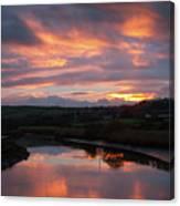 Castlemaine December Dawn Canvas Print