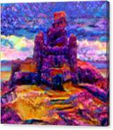 Castles In The Sand Cs-1a Canvas Print