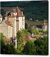 Castles Of Curemonte Canvas Print