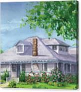 Castro House Canvas Print