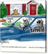 Cat Burglers Canvas Print