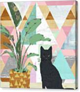 Cat Collage Canvas Print