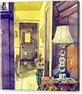 Cat Door Canvas Print