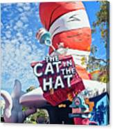 Cat In The Hat Series 2999 Canvas Print