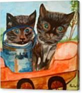 Cat Mischief Canvas Print