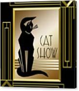 Cat Show - Frame 5 Canvas Print