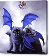 Catabat Snack Canvas Print