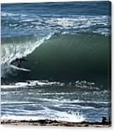 Catching The Big One Canvas Print