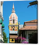 Catedral De Cartagena Canvas Print