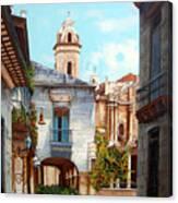 Catedral De La Habana Canvas Print