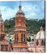 Catedral De Zacatecas  Canvas Print