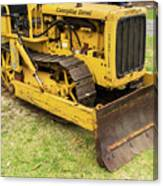 Caterpillar D2 Bulldozer 01 Canvas Print