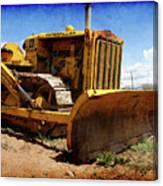Caterpillar Twenty Two Canvas Print
