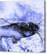 Catfish Blue Canvas Print
