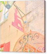 Catfish Row Entrance Chs Canvas Print