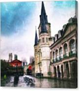 Cathederal From Side Canvas Print