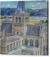 Cathedral Closeup Canvas Print