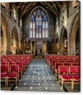 Cathedral Entrance Canvas Print