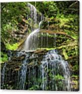 Cathedral Falls 4 - Paint Canvas Print