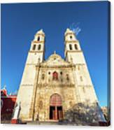 Cathedral In Campeche Canvas Print