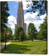 Cathedral Of Learning University Of Pittsburgh Canvas Print