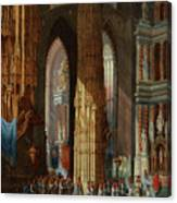 Cathedral Of San Miguel Canvas Print