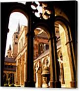 Cathedral Of Trier Window Canvas Print