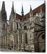 Cathedral Regensburg Canvas Print