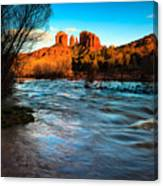 Cathedral Rock 8 Canvas Print