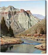 Cathedral Rock John Day River Canvas Print
