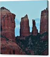 Cathedral Rock Moon 081913 H Canvas Print
