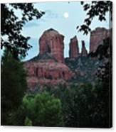 Cathedral Rock Rrc 081913 Aa Canvas Print