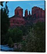 Cathedral Rock Rrc 081913 Ae Canvas Print