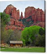 Cathedral Rock V Canvas Print