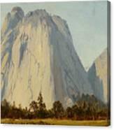 Cathedral Rocks  - Yosemite Valley Canvas Print