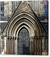 Cathedral Side Door Canvas Print