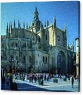 Cathedral, Spain Canvas Print