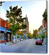 Cathedral Square Gallery On Dauphin Street Mobile Canvas Print