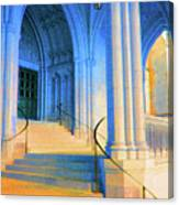 Cathedral Steps Canvas Print