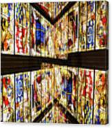 Cathedral Window Montage Canvas Print