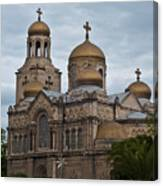 Cathedral,varna,bulgaria Canvas Print
