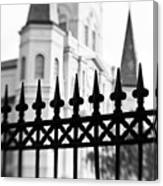 Catheral Basilica - Bw Canvas Print
