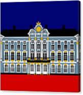 Catherines Palace Inspiration - Katharinenhof Inspiration St Petersburg Russia Canvas Print