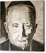 Catholic Cardinal Jozsef Mindszenty Canvas Print