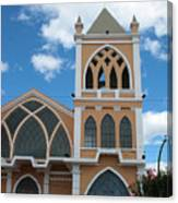 Catholic Church In Ibarra Canvas Print