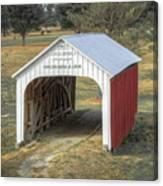 Catlin Covered Bridge  Canvas Print